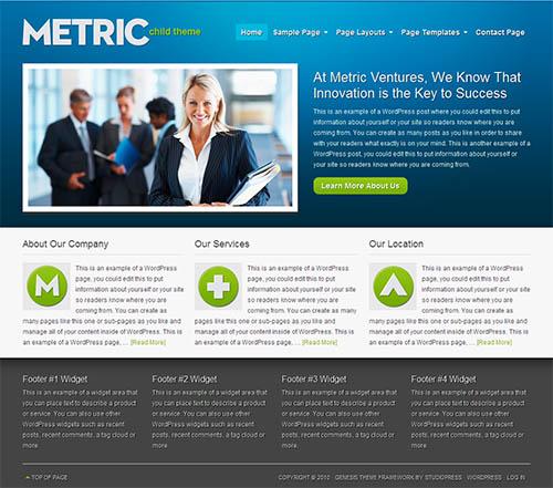 metric-wordpress-theme