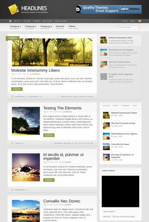 headlines-wordpress-theme