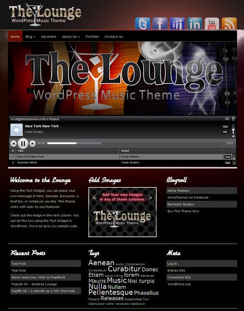 best music  u0026 band wordpress themes