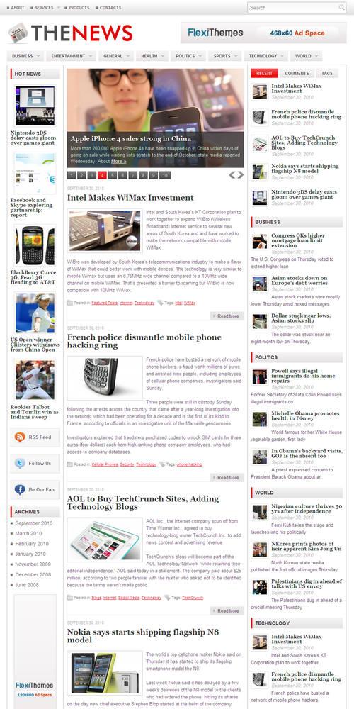 TheNews Premium WordPress Theme