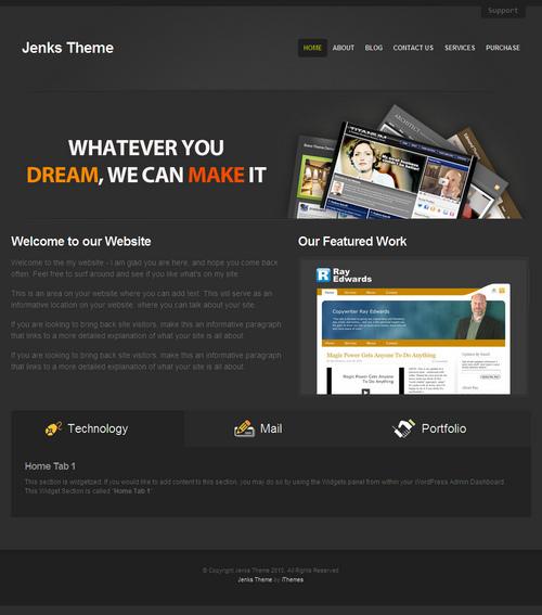 Jenks Business WordPress Theme