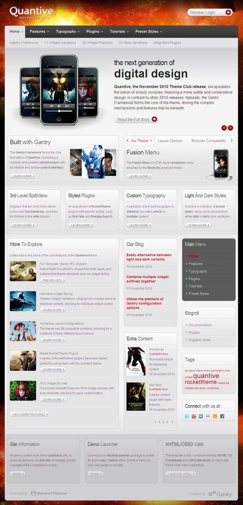 Quantive Premium WordPress Theme