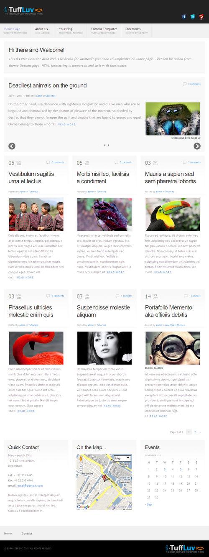Sofa TuffLuv Premium WordPress Theme