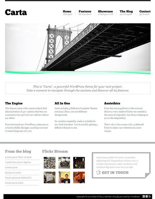 Carta Premium WordPress Theme