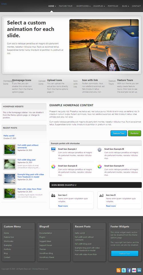 Extatic Premium WordPress Theme