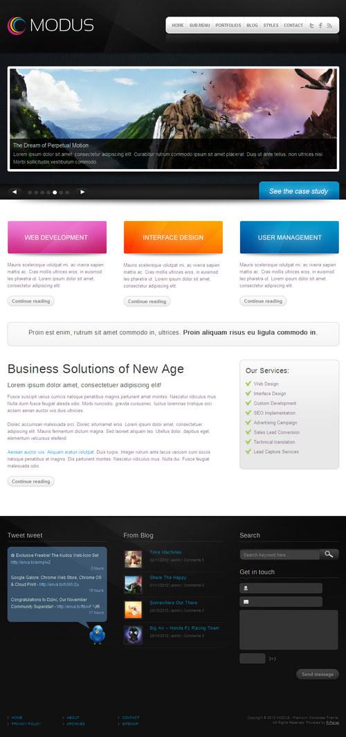 Modus Premium WordPress Theme
