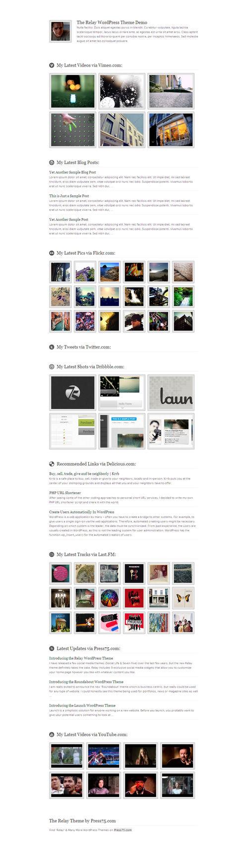 Relay Premium WordPress Theme