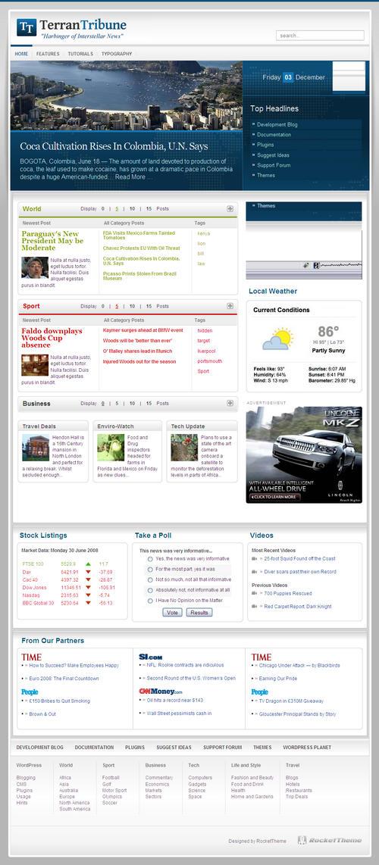 TerranTribune Premium WordPress Theme