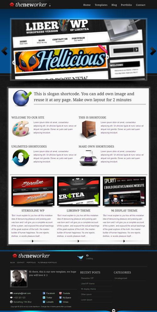 The Neworker Premium WordPress Theme