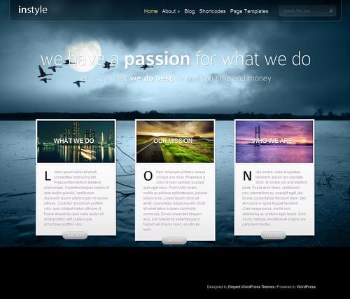 InStyle Premium WordPress Theme | Best WordPress Themes