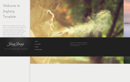 JingJang Premium Portfolio WordPress Theme