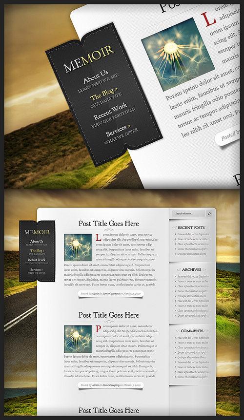 Memoir Premium WordPress Theme