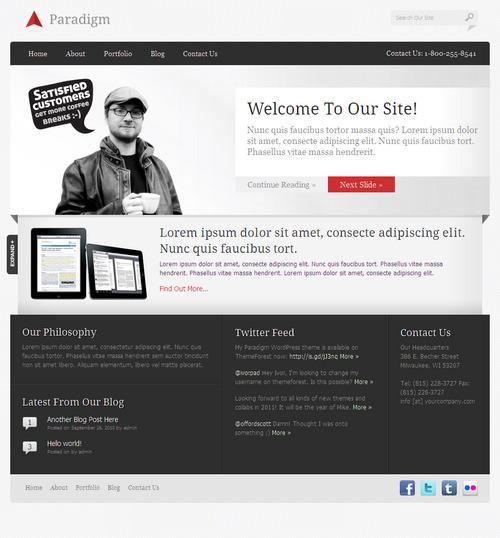 Paradigm Premium WordPress Theme