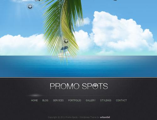 Promo Spots Premium WordPress Theme