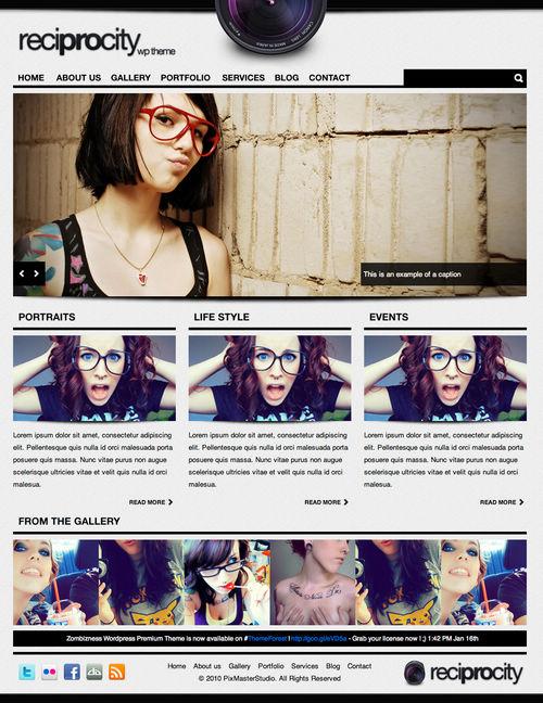 Reprocity WordPress Theme