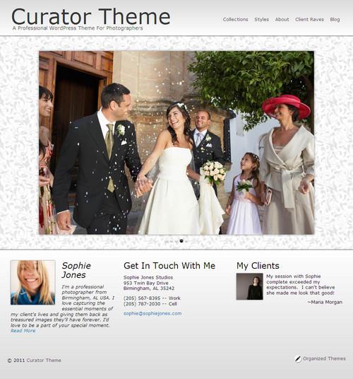 Curator Premium WordPress Theme