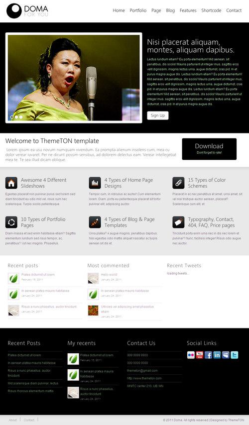 Doma Premium WordPress Theme