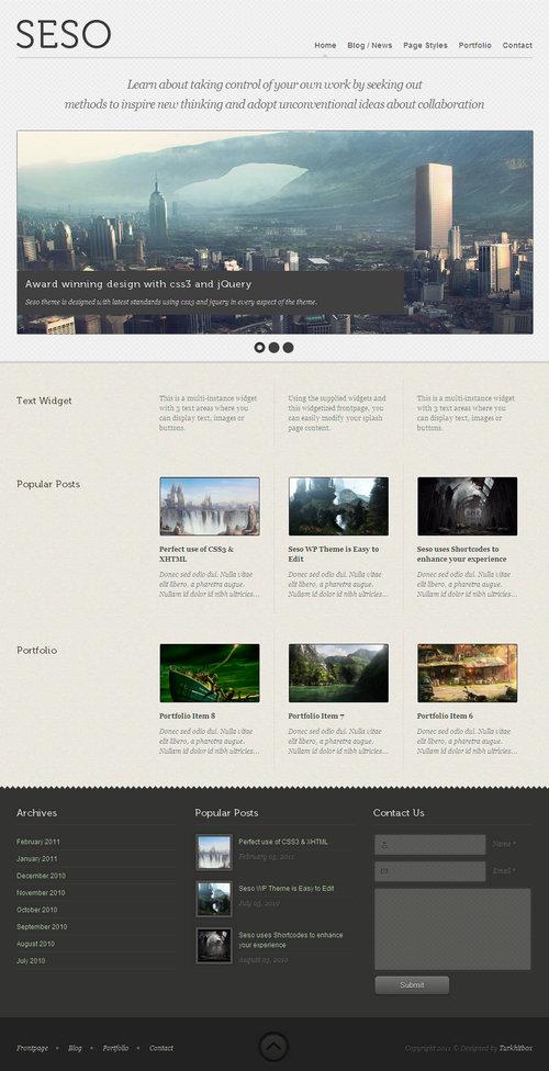 Seso Premium WordPress Theme