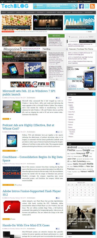 TechBlog Premium WordPress Theme