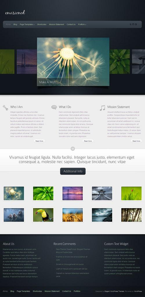 Envisioned Premium WordPress Theme