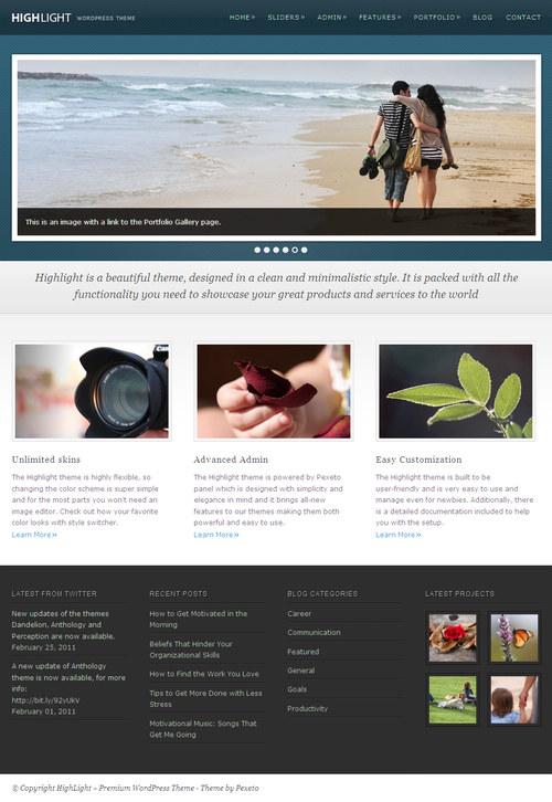 Highlight Premium WordPress Theme