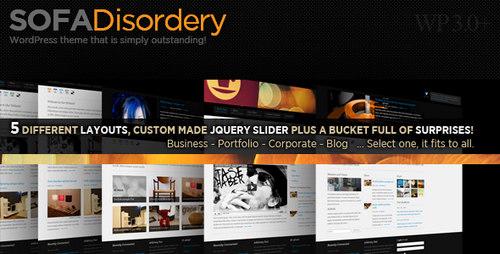 Sofa Disordery 5 layouts