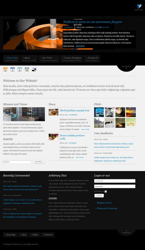 Sofa Disordery Premium WordPress Theme