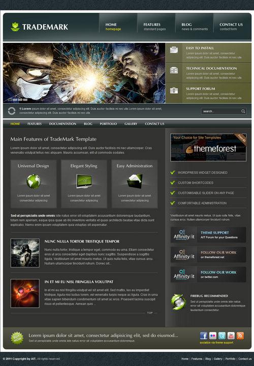 Trademark Premium WordPress Theme