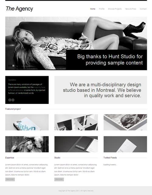 The Agency Premium WordPress Theme