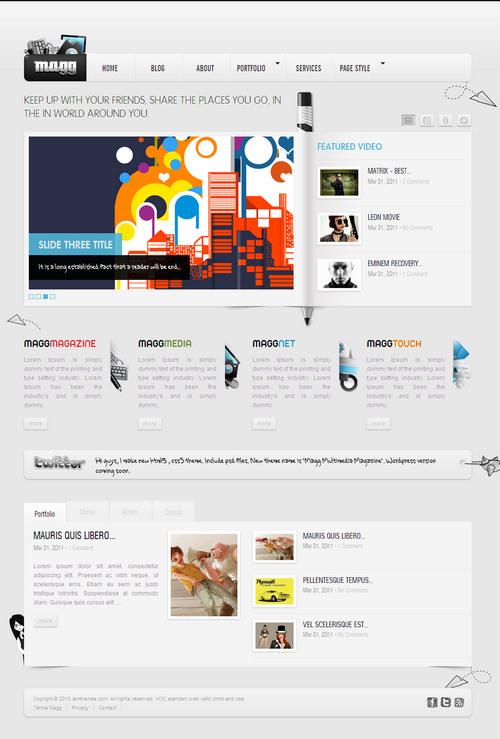 The Magg Magazine WordPress Theme