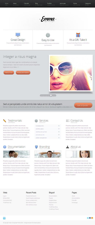 Emma Business & Portfolio WordPress Theme