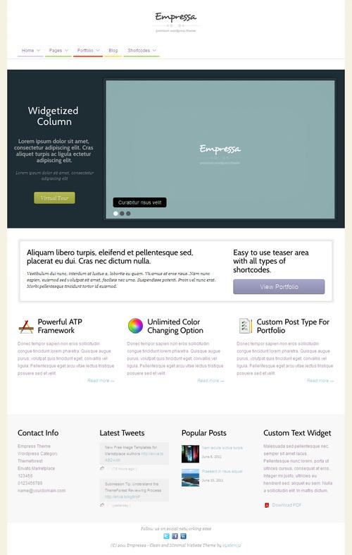 Empressa WordPress Theme