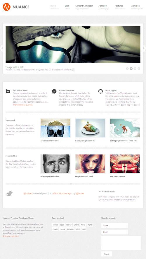 Nuance WordPress Theme