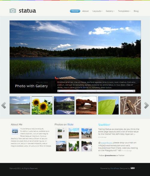 Statua WordPress Theme
