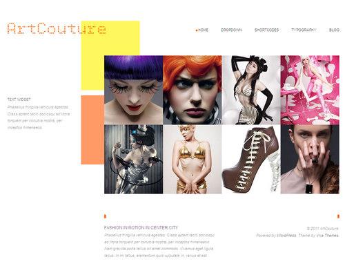 ArtCouture WordPress Theme