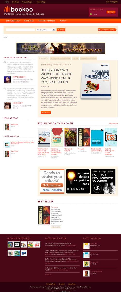 Bookoo WordPress Theme