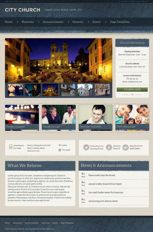 Ezekiel WordPress Theme