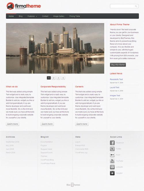 Firma WordPress Theme