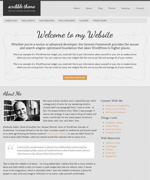 Scribble WordPress Theme