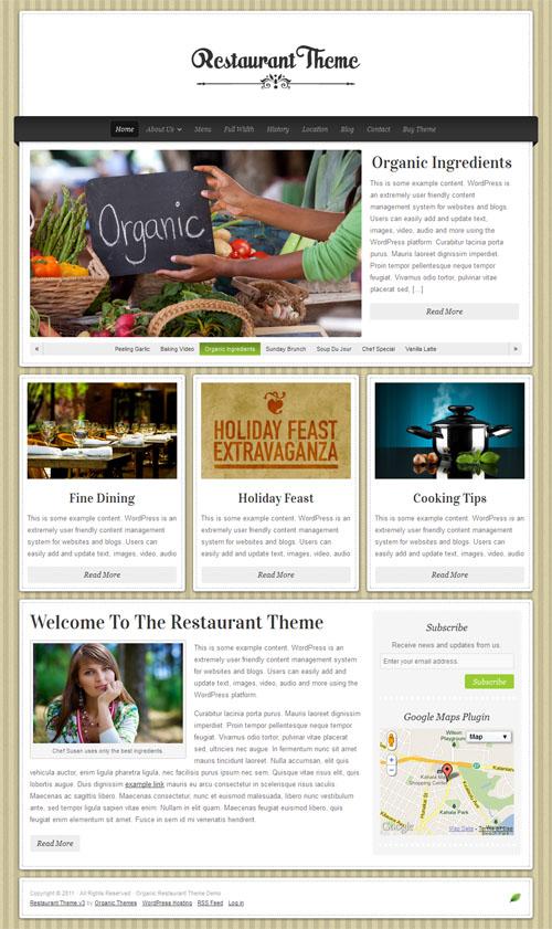 restaurant 3.0 wordpress theme