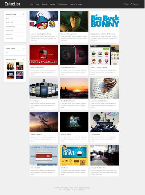 Collection WordPress Theme