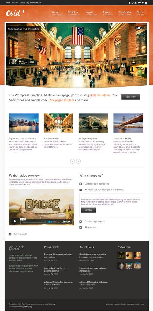 Ovid WordPress Theme