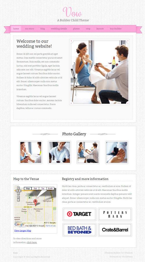 Vow WordPress Theme