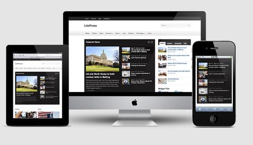 LitePress Responsive Layout