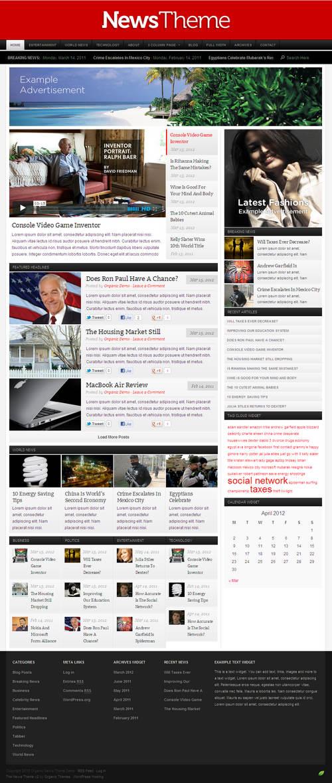 Organic News Theme V2