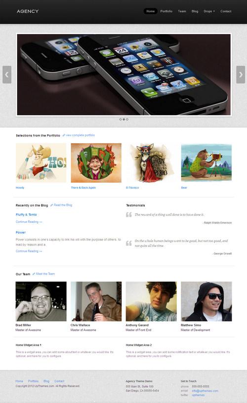 Agency WordPress Theme