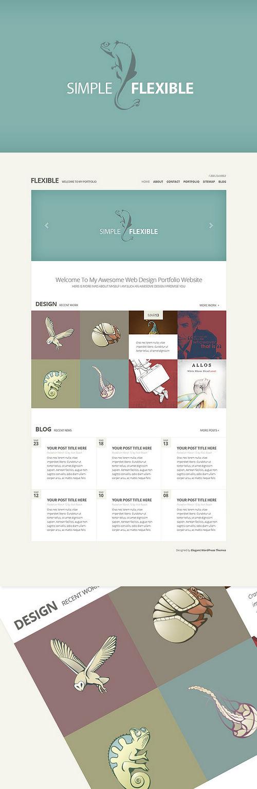 Flexible WordPress Theme Preview