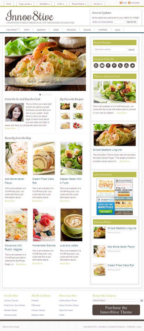 Innov8tive 1.0 WordPress Theme