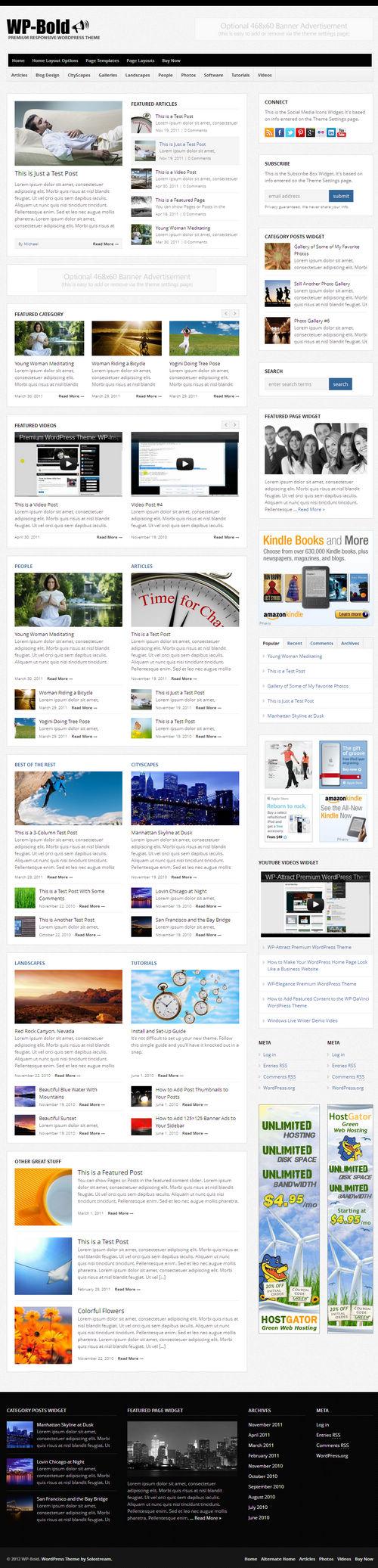 WP-Bold WordPress Theme