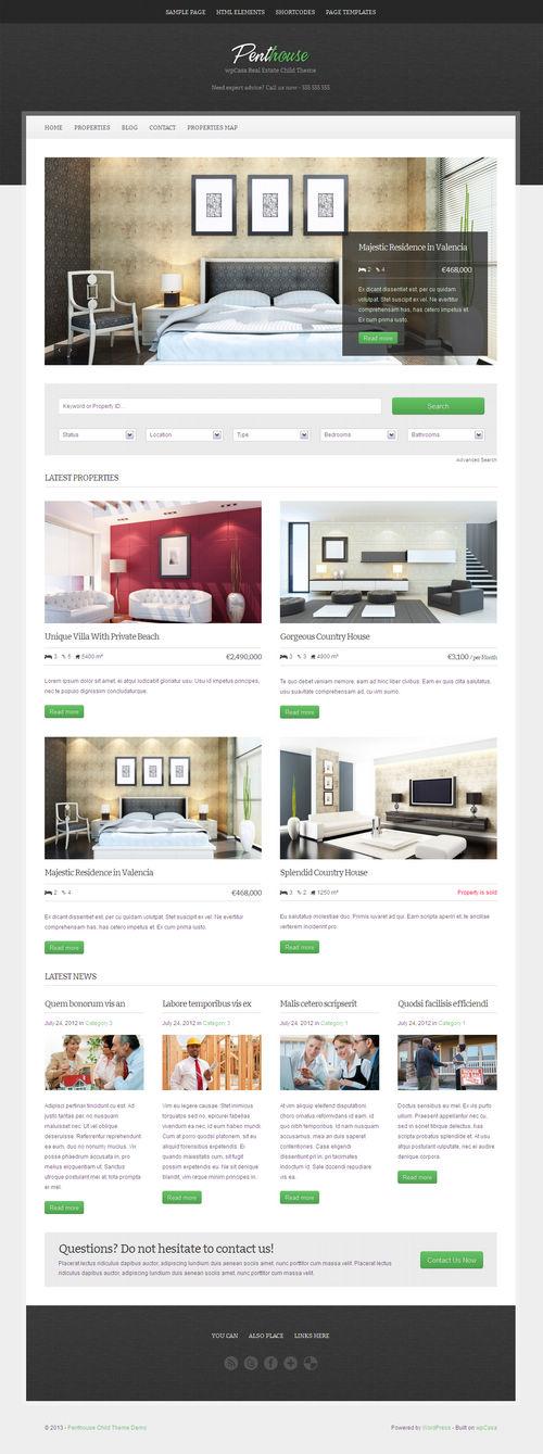 Penthouse WordPress Theme
